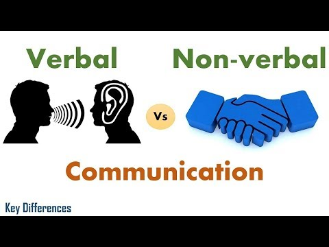 Verbal Vs Non-verbal Communication: Difference between them with examples & comparison chart