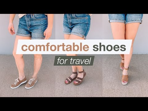 Cute & Comfortable Shoes for Travel | Summer Vacation 2019