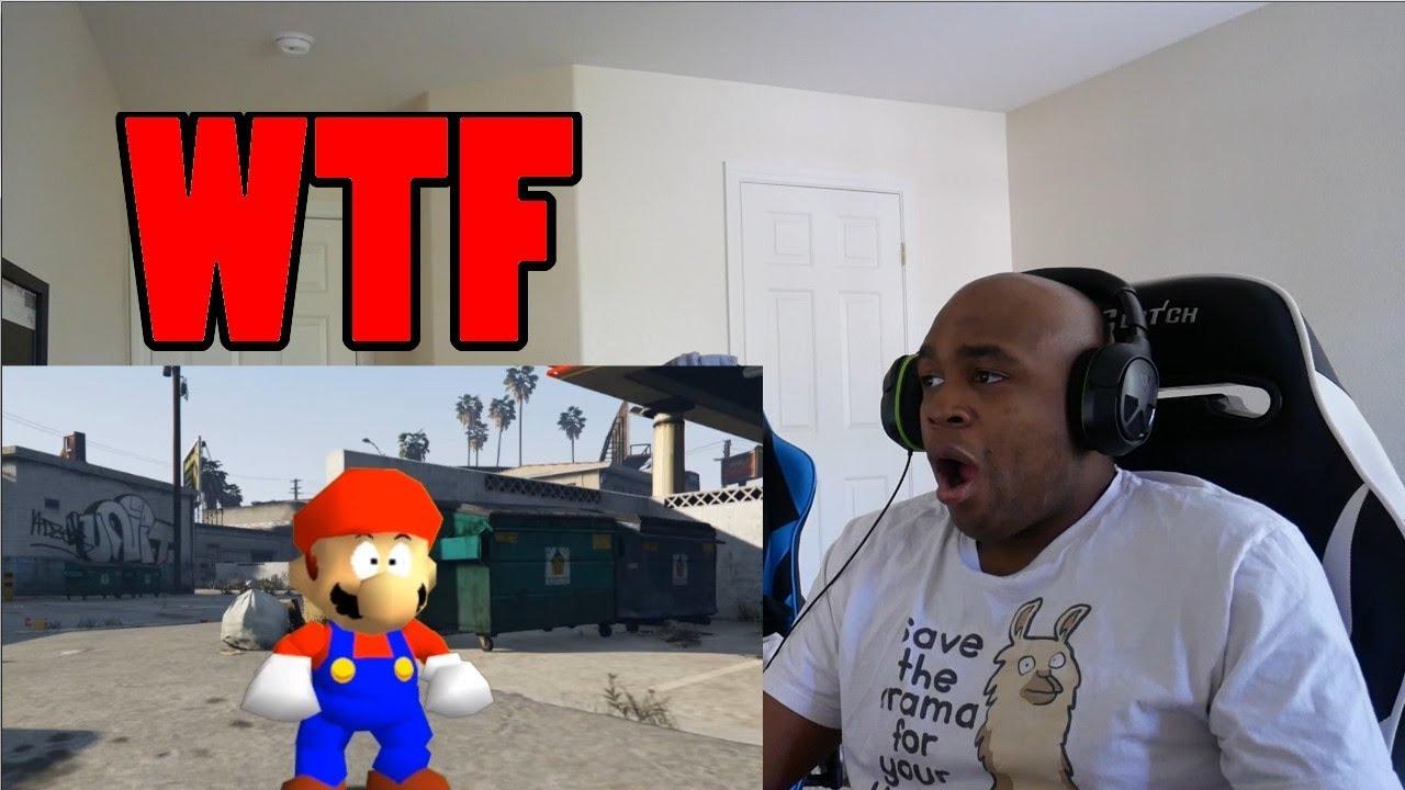 Download Grand Theft Mario - If Mario was in...GTA V REACTION!!