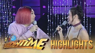 It's Showtime Miss Q & A: Vice and Bela become speechless