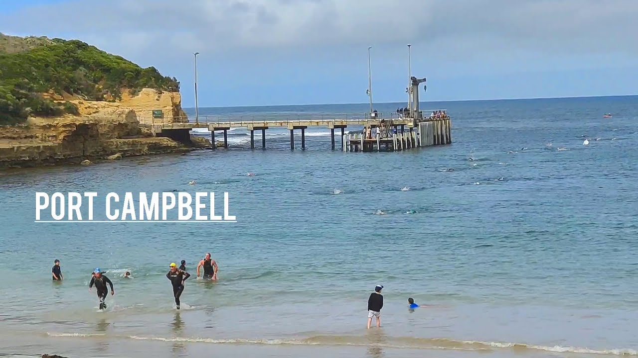 The Port Campbell 2021,  1.2 km Open Water Swim.
