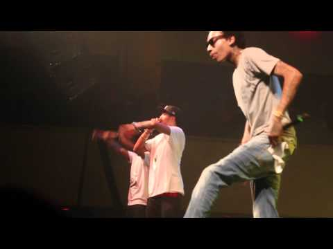 Wiz Khalifa - Never Been, The Kid Frankie (LIVE)