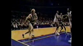 Larry Bird (28pts/20rebs/8asts) vs. Knicks (1980)