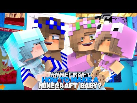 HOW TO MAKE A MINECRAFT BABY!! w/Little Carly (Minecraft)