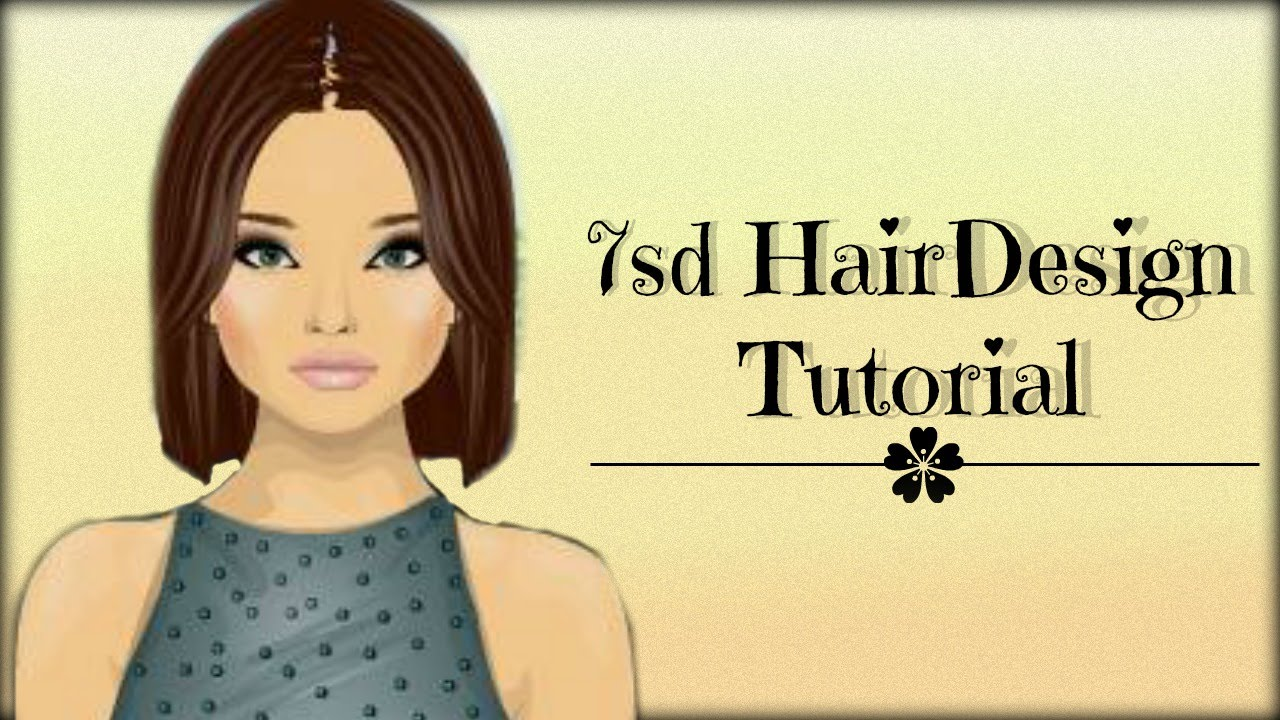 stardoll 7sd hair design tutorial