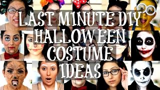 LAST MINUTE DIY HALLOWEEN COSTUME IDEAS | BeautyyBird