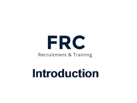 Foreign Recruitment & Training Center (FRC) Introduction