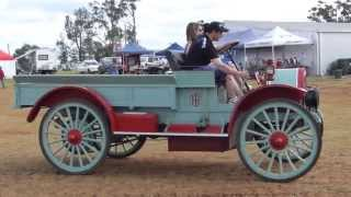 Trucks at the Kingaroy and District Vintage Machinery Club Rally 2015