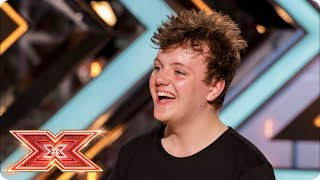 Benji Matthews belts out Alicia Keys! | Auditions Week 3 | The X Factor 2017