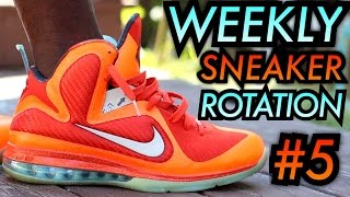 Weekly Sneaker Rotation 5 On-Feet #NumeroCinco