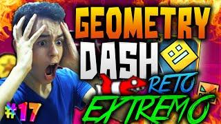 Geometry Dash! EL RETO EXTREMO! ¡RANDOM CHALLENGE! #17 - TheGrefg