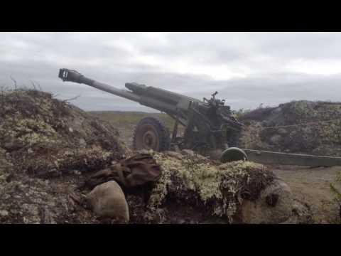 """Стрельбы с Орудия 2Б-16 """"НОНА"""""""