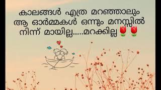 School life.... Memories.....Heart touching malayalam video🤓