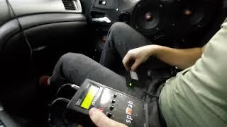 После установки короба с двумя сабами Pride в Subaru Impreza