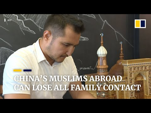 Leaving China can mean losing your family for Uygur Muslims
