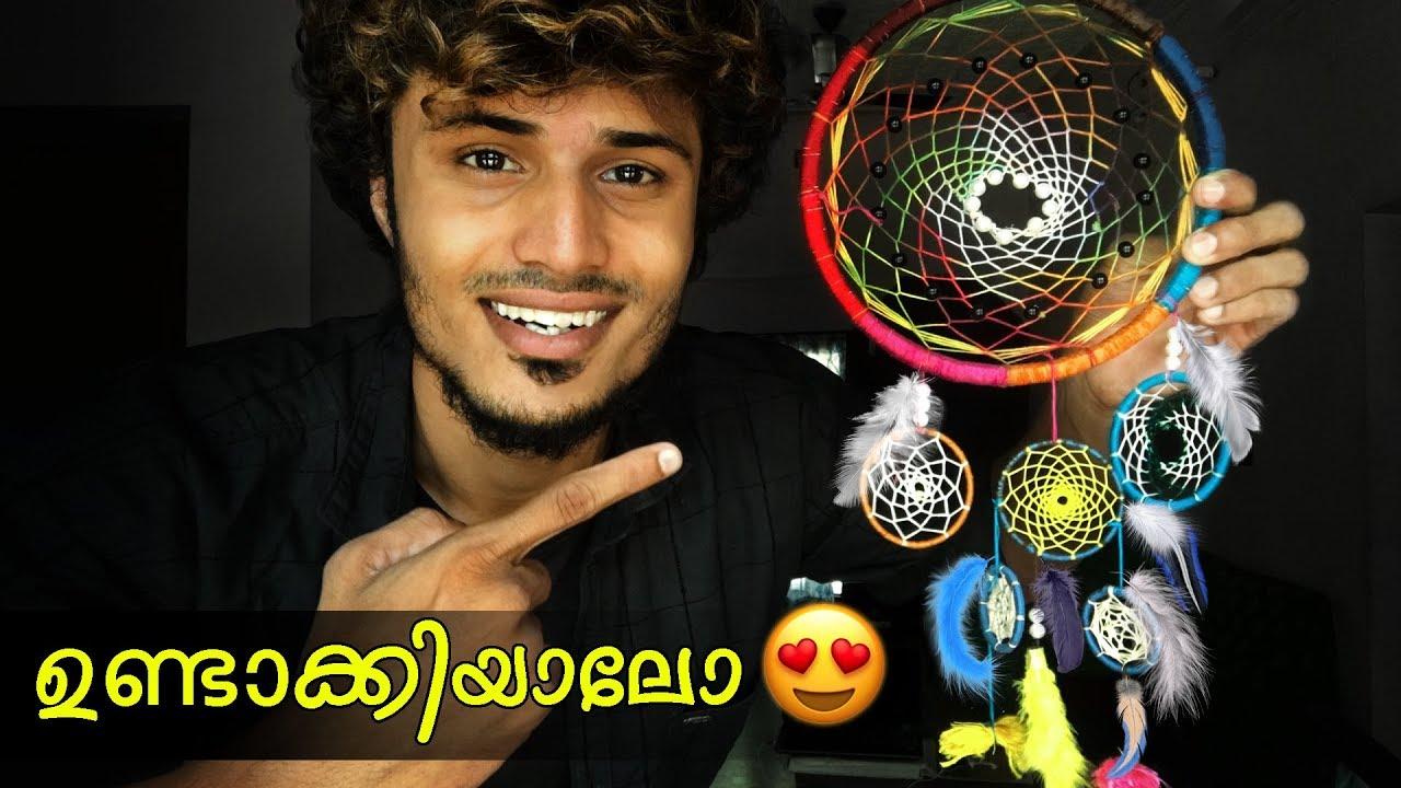 Dream Catcher ഉണ്ടാക്കിയാലോ 😍 | How to Make a Dream Catcher | Malayalam