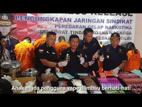 Polisi Amankan Puluhan Liquid Vape Mengandung Narkoba Mp3