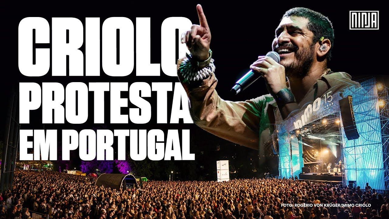 """Resultado de imagem para """"Estamos vivendo uma ditadura velada"""" Criolo em show no Festival MIMO em Portugal"""