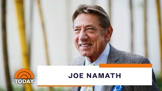 Football Legend Joe Namath Talks About His New Book, 'All The Way' | TODAY