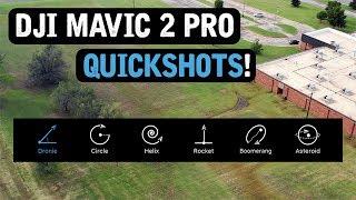 DJI Mavic 2 Pro / QUICKSHOTS (Tutorial)