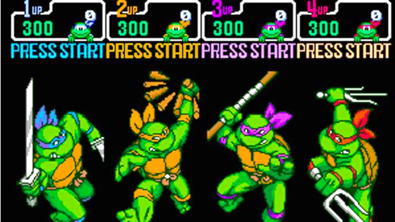 Top 10 Teenage Mutant Ninja Turtles Video Games Youtube