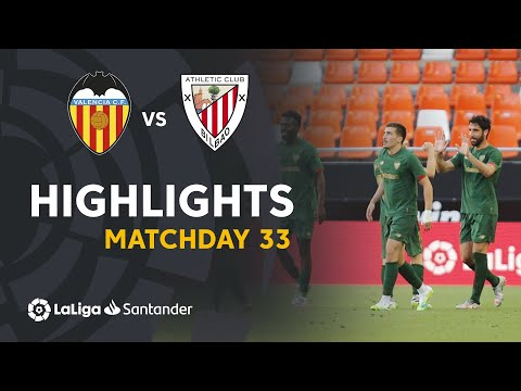 Highlights Valencia CF vs Athletic Club (0-2)