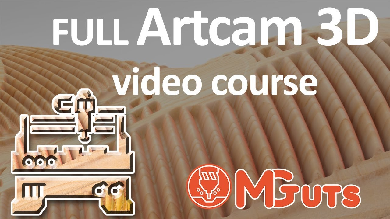 Full Artcam 3d modeling video course  How to create Amazing 3D art in Artcam