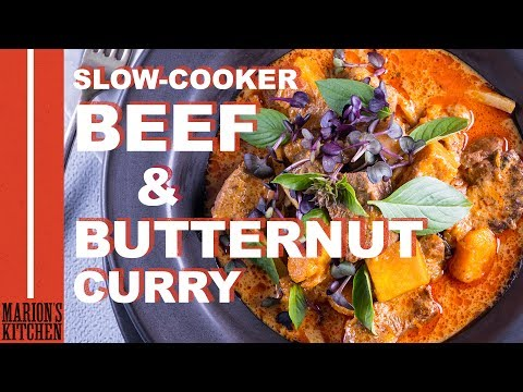 Slow-cooker Beef & Butternut Curry - Marion's Kitchen