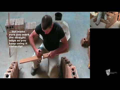 Solid brick step construction (Part 2 of 3)