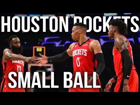 Houston Rockets Small Ball Breakdown | NBA Film Room