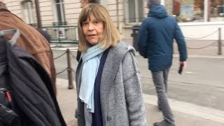 EXCLUSIVE : Chantal Goya arriving at RTL radio station in Paris