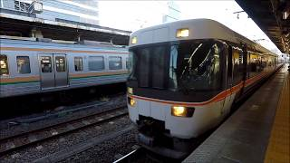 車窓 特急しなの1号名古屋→長野 2019 08 26