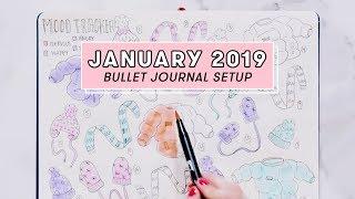 January 2019 Bullet Journal Setup | Plan With Me