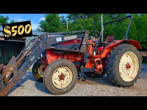 OLD TRACTOR FIRST START IN 10 YEARS Part 2
