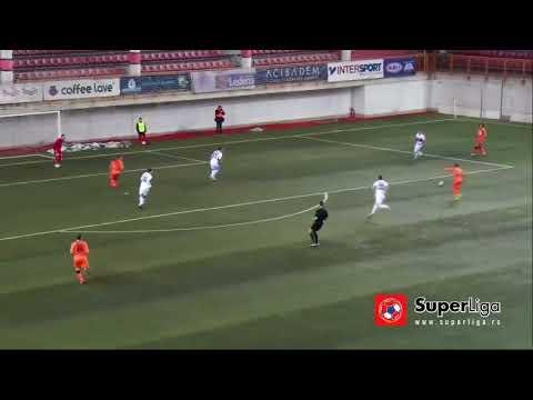 Mile Savkovic Goal Vs Vozvodac