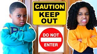 Stay Out Of My Room! - Shiloh and Shasha - Onyx Kids