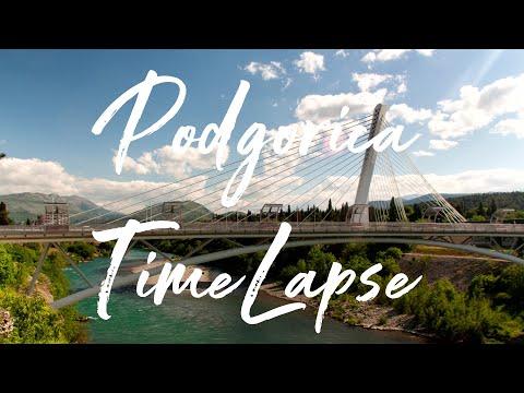 2016 Podgorica (Montenegro) TimeLapse