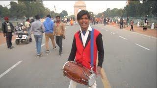 Dil chori sadda Ho Gaya|India gate ढोलक की आवाज सुनकर सब हैरान रह गए|bhura dholak|Ashu Bachchan