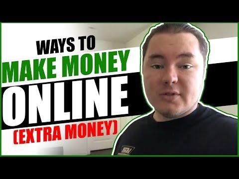 Ways To Make Money Online (extra money)