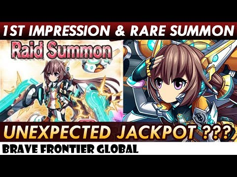 New Unit Vashi - 1st Impression & Unexpected Jackpot Rare Summon (Brave Frontier Global)