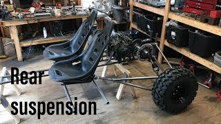 Honda CBR 600 buggy build part 2