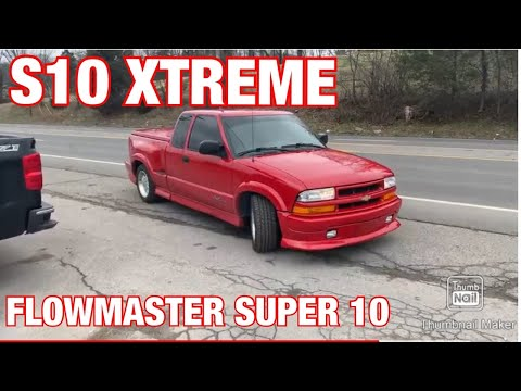 2000 Chevy S10 Xtreme V6 DUAL EXHAUST W/ FLOWMASTER SUPER 10!!!