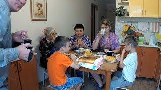 Рыбный пирог по рецепту бабушек. Готовит сразу 4 поколения