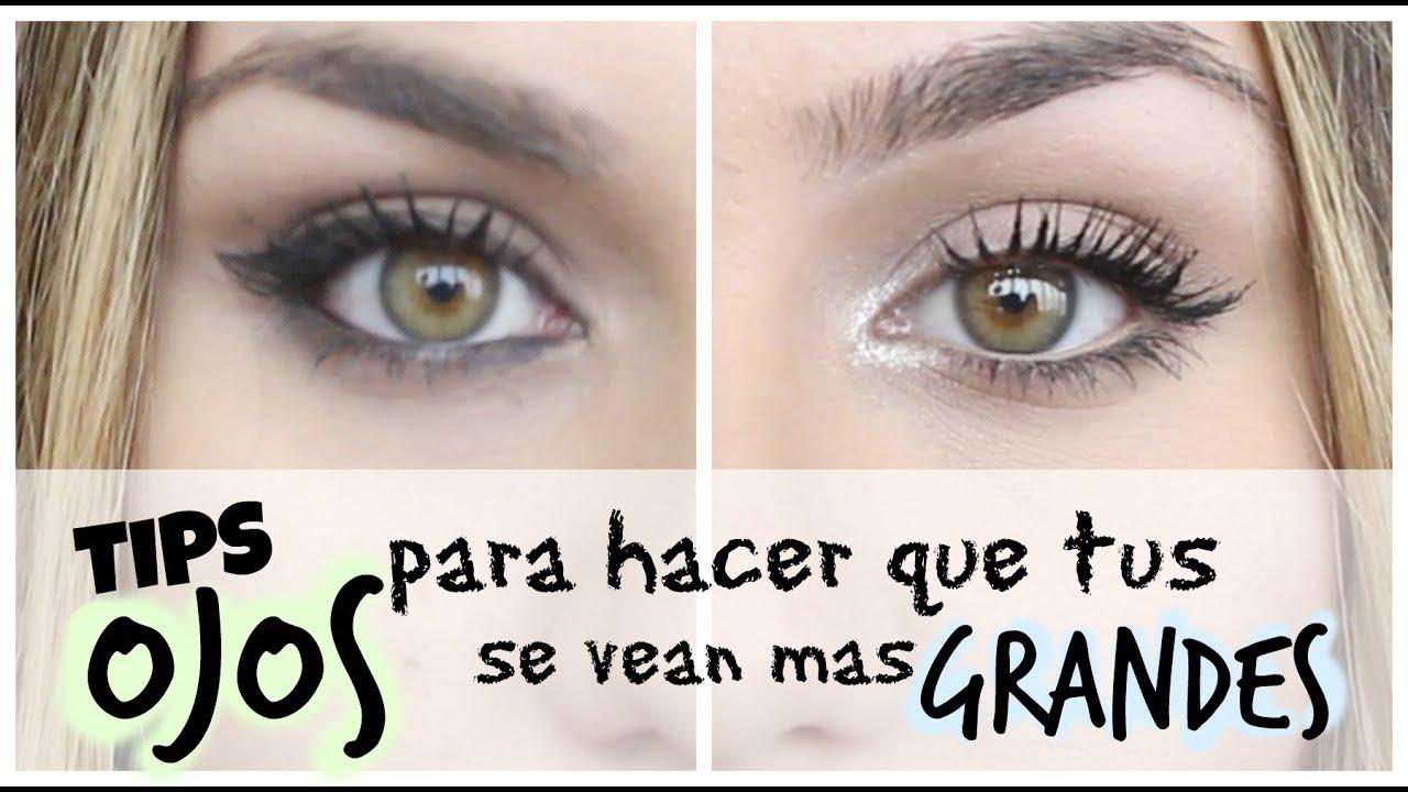 Tips para hacer que tus ojos se vean mas grandes l noelia for Como se maquillan los ojos ahumados