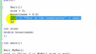 C++ Tutorial 15: Constructors and Destructors