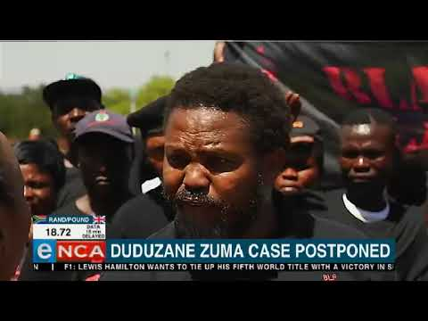 Duduzane Zuma case postponed