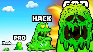 GROWING the STRONGEST BLOB SLIME in Blob attack