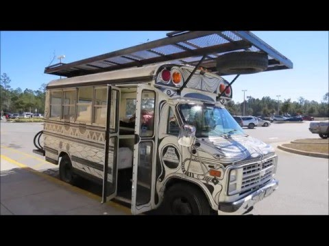 Handmade Moments Solar Powered Music and Art Bus