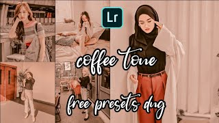LIGHTROOM TUTORIAL  ||  COFFEE TONE  ||  FREE PRESET DNG