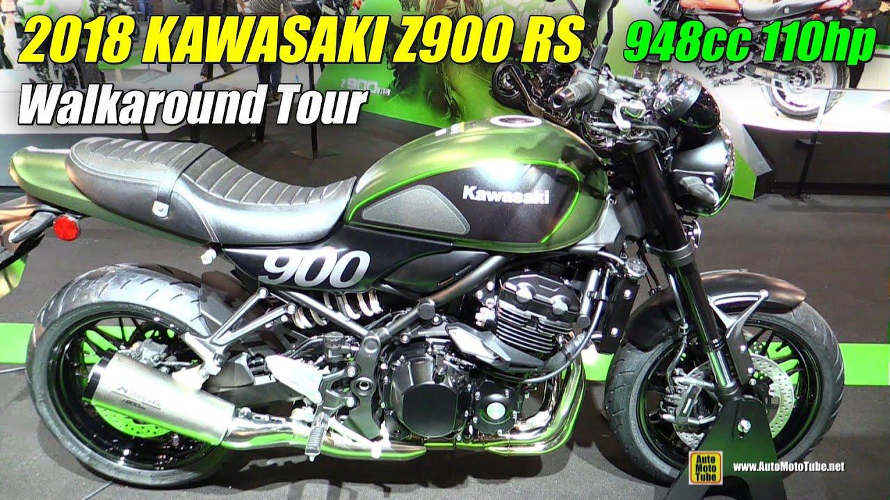 2018 Kawasaki Z900 Rs Walkaround 2017 Eicma Milan Motorcycle Exhibition